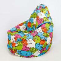 Кресло МАХ Симпл Кошки 02 Рогожка
