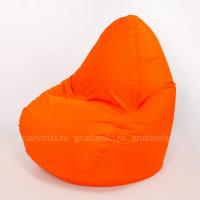 Кресло-капля Оксфорд оранжевый