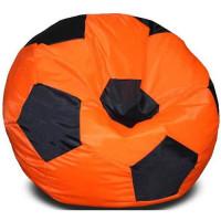 Кресло мяч. Оксфорд оранжево-черный