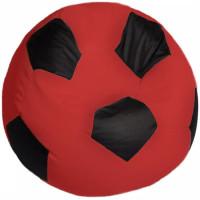 Кресло мяч. Оксфорд красно-черный
