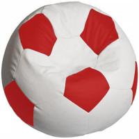 Кресло мяч. Оксфорд бело-красный