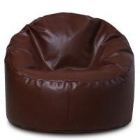 Кресло - Пенек Коричневый. Экокожа