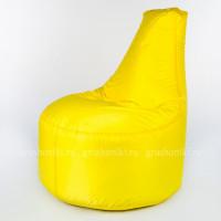 """Кресло """"Трон"""" Оксфорд желтый"""
