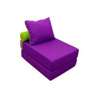 Кресло-кровать.  Симпл 27 (фиалковый) Рогожка