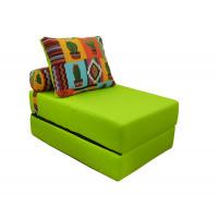 Кресло-кровать.  Симпл 8 (салатовый) Рогожка