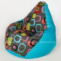 Кресло МАХ Мумбо. +Дьюспа голубого цвета