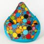 Кресло МАХ Боро +Дьюспа голубого цвета