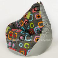 Кресло МАХ Мумбо. +Дьюспа серого цвета