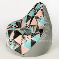 Кресло МАХ Стайл. +Дьюспа серого цвета