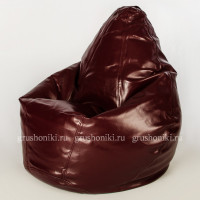 Кресло МАХ Латте люкс 410 (вишня) Иск. кожа