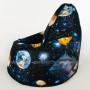 Кресло Мини Космос Жаккард (ткань светится в темноте)