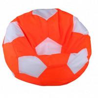 Кресло мяч. Дьюспо оранжево-белый