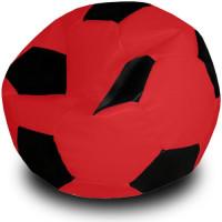 Кресло мяч. Иск. кожа красно-черный