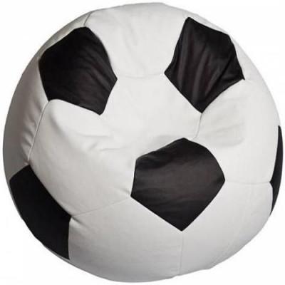 Кресло мяч. Дьюспо бело-черный