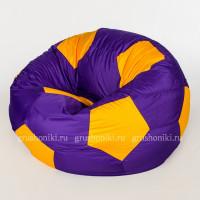 Кресло мяч. Дьюспо фиолетово-желтый