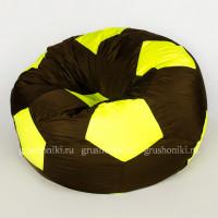 Кресло мяч. Дьюспо коричнево-салатовый
