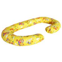 Подушка Relax С-образная Медвежата Желтый цв. (Бязь)