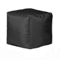Пуф-куб Дьюспо черный